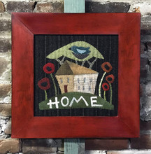 Happy,Home,wool,appliqué,picture,Threads,That,Bind