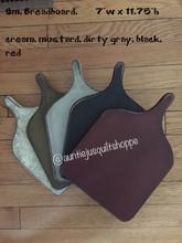 Small,breadboards,cream,mustard,dirty,gray,black,red
