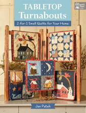 Table,Turnabouts,quilt,book,Jan,Patek