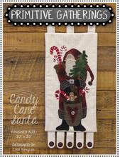 Candy,Cane,Santa,designer,Primitive,Gatherings,kit, Auntie,Jus,Quilt,Shoppe