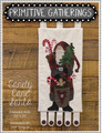 Candy,Cane,Santa,designer,Primitive,Gatherings,kit, Auntie,Jus,Quilt,Shoppe