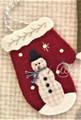 Ornament - Snowman Mitten