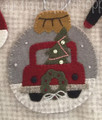 Ornament - Truck Tree & Wreath
