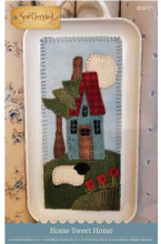 home,sweet,home,pattern,designer,Sew,Cherished,white,enamaled,tray,insert,kit,Auntie,Ju's,Quilt,Shoppe