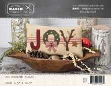 Joy,Woodland,Pillow,December,designed,Buttermilk,Basin,kit,Auntie,Jus,Quilt,Shoppe