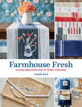 Farmhouse,Fresh,Creations,16inch,toweling,author,Janelle,Kent,Auntie,Jus,Quilt,Shoppe