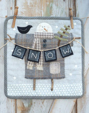 Heart,Hand,snowman,January,pattern,designer,Kathi,Campbell,kit,Auntie,Jus,Quilt,Shoppe