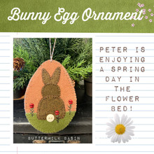 Bunny,Egg,Ornament,designer,Buttermilk,Basin