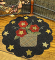 Star,Flower,Basket,tabletopper,pattern,designer,Woolen,Needle,kit,Auntie,Jus,Quilt,Shoppe