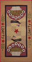Liberty,tablerunner,pattern,designer,Timeless,Traditions,kit,Auntie,Jus,Quilt,Shoppe
