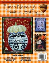 Punch,Needle,Primitive,Stitcher,magazine,Fall,2020,Issue,Auntie,Jus,Quilt,Shoppe