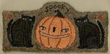 Spooky,punchneedle,pattern,Teresa,Kogut,designer