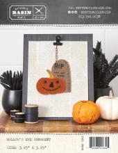 Hallows,Eve,Halloween,Ornament,pattern,Buttermilk,Basin,kit,Auntie,Jus,Quilt,Shoppe