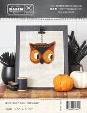 Hoot,Hoot,Owl,Halloween,Ornament,pattern,Buttermilk,Basin,kit,Auntie,Jus,Quilt,Shoppe