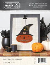Party,Pumpkin,Halloween,Ornament,pattern,Buttermilk,Basin,kit,Auntie,Jus,Quilt,Shoppe