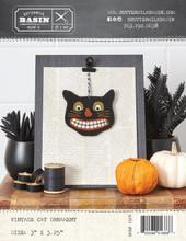 Vintage,Cat,Halloween,Ornament,pattern,Buttermilk,Basin,kit,Auntie,Jus,Quilt,Shoppe
