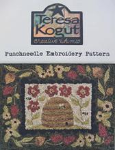 Punch,needle,pattern,Teresa,Kogut,Beeutiful,Garden