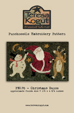 Punch,needle,pattern,Teresa,Kogut,Christmas,Dance,TK176