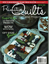 Primitive,Quilts,Projects,Winter,2020,Issue,Auntie,Jus,Quilt,Shoppe