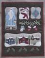 Christmas,Past,designer,Lily,Ann,Stitches,wool,appliqué,Auntie,Jus,Quilt,Shoppe