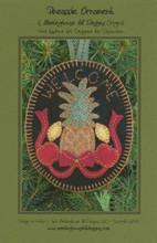 Pineapple,Ornament,wool,appliqué,designer,Meetinghouse,Hill,Designs,Auntie,Jus,Quilt,Shoppe