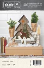 Woodland,Tree,pattern,wool,appliqué,designer,Buttermilk,Basin,Auntie,Jus,Quilt,Shoppe