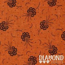 Diamond,Textiles,Humble,Beginnings,D#1,orange,Auntie,Jus,Quilt,Shoppe