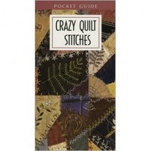 Leisure Arts Crazy Quilt Stitches pocket reference