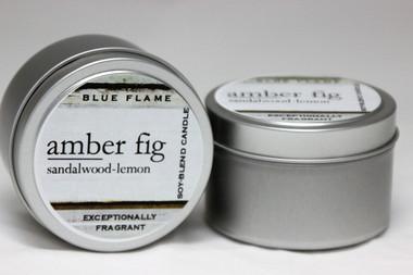 Amber Fig Travel Tin- Modern