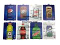 Dixie Narco & Vendo HVV Flavor Cards/Labels
