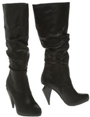 Dollhouse Knee High Sensation Ruched Boots