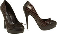 Charles David Brown Patent Reptile Stiletto