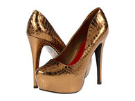 Sam Edelman Gold Platforms