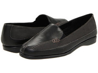 Easy Street Black Slip On