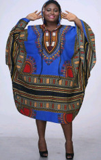 Unisex Dashiki - Long w/Hood