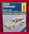 ©1993 HAYNES JEEP CHEROKEE AUTOMOTIVE REPAIR MANUAL BOOK