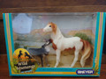 NEW! BREYER AMERICA'S WILD MUSTANGS NO. 750202 SACRED MEDICINE HAT STALLION AND GREY WOLF