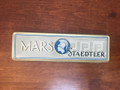 1950 MARS STAEDTLER PENCIL TIN WITH TWELVE 2H PENCILS AND ORIGINAL PAPER INSERT