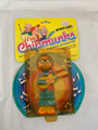 "1983 CBS TOYS ""THE CHIPMUNKS WIND-UPS"" SIMON TOY FIGURE"