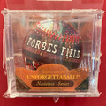 NEW VINTAGE UNFORGETTABALL FORBES FIELD HAND DESIGNED BASEBALL