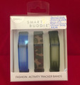 NEW! SMART BUDDIES FASHION ACTIVITY TRACKER BANDS FOR FITBIT FLEX SIZE SMALL