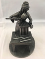 "1974 THE FRANKLIN MINT ""THE CANDLEMAKER"" FINE PEWTER FIGURINE"