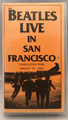 RARE! 1966 THE BEATLES LIVE IN SAN FRANCISCO VHS TAPE