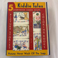 RARE ANTIQUE 5 BOOK, 5 SOAP AND CRAYON KIDDIE TALES SET BY PICTO-SOAP