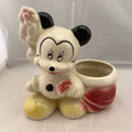 RARE! 1944-1954 WALT DISNEY AMERICAN BISQUE MICKEY PLANTER