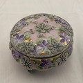RARE ANTIQUE  NIPPON ROYAL MORIYE TRI-FOOTED TRINKET BOX
