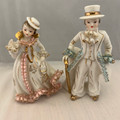 MID 20TH CENTURY SHAFFORD BONE CHINA VICTORIAN COUPLE