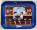 """RARE! 1996 PEPSI COLA """"THE WAY IT WAS AFTER SCHOOL"""" SIGNED SAVAGE ARTIST METAL TRAY"""
