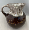 VINTAGE FUNDY NATIONAL PARK OF NEW BRUNSWICK, CANADA DRIP GLAZE POTTERY CREAMER SOUVENIR