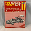 1988 FORD MUSTANG AND MERCURY CAPRI OWNERS WORKSHOP MANUAL ©1988 BY JOHN H. HAYNES, MIKE LEWIS & LARRY WARREN